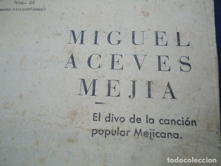 1956 CANCIONERO DE MIGUEL ACEVES MEJIA CON 16 PÁGINAS (Música - Partituras Musicales Antiguas)