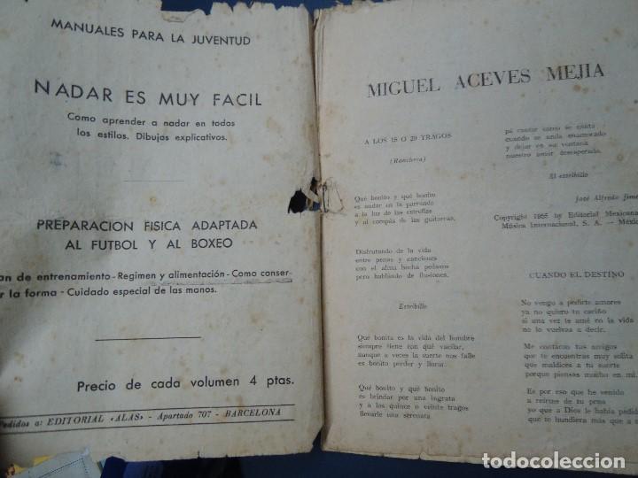 Partituras musicales: 1956 CANCIONERO DE MIGUEL ACEVES MEJIA CON 16 PÁGINAS - Foto 4 - 99798727