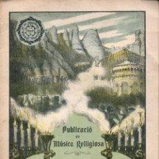 Partituras musicales: JOAN BAPTISTA LAMBERT I CAMINAL : LO SANT ANGEL CUSTODI (1911). Lote 101158499