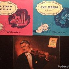 Partituras musicales: LABORATORIOS ESTEVE. BLANDIN. 3 PARTITURAS MUSICALES. Lote 103748768