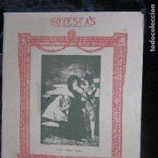 Partituras musicales: (F.1) PARTITURA 1ª PARTE DE LOS MAJOS ENAMORADOS DE ENRIQUE GRANADOS. Lote 104261367