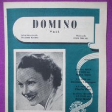 Partituras musicales: PARTITURA MUSICA, DOMINO, VALS, JACQUES PLANTE, PA27. Lote 105194535