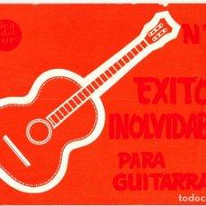 Partituras musicales: EXITOS INOLVIDABLES PARA GUITARRA - Nº 2 - MUSICA DEL SUR. Lote 105872911