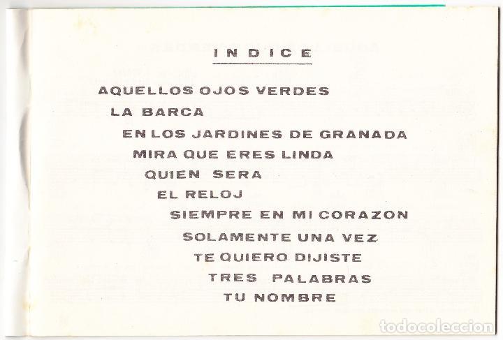 Partituras musicales: EXITOS INOLVIDABLES PARA GUITARRA - Nº 5 - MUSICA DEL SUR - Foto 2 - 105872935
