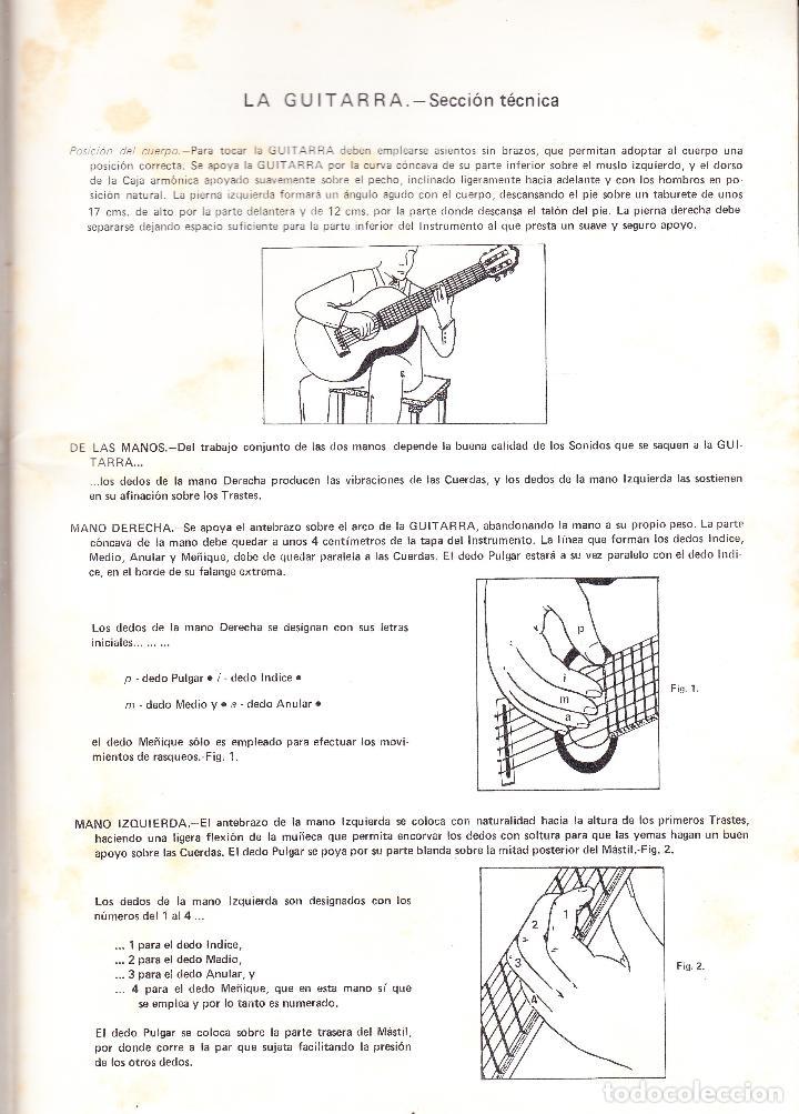 Partituras musicales: NUEVO METODO POR CIFRA Y MUSICA PARA GUITARRA ESPAÑOLA - TORRES LUCENA - Foto 3 - 105873123