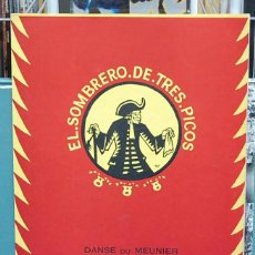 Partiture musicali: DANCE DU MEUNIER (FARRUCA). EL SOMBRERO DE TRES PICOS. MANUEL DE FALLA. J & W CHESTER 1921 LONDRES. Lote 107199587