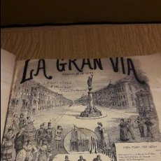 Partituras musicales: PARTITURA !! LA GRAN VÍA / ZARZUELA EN UN ACTO / CHUECA Y VALVERDE / CASA DOTESIO. / LEER.. Lote 107204099