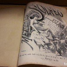 Partituras musicales: PARTITURA !! MÉTODO COMPLETO DE SOLFEO / HILARIÓN ESLAVA / MADRID - AÑO 1878 !! LEER.. Lote 107246267