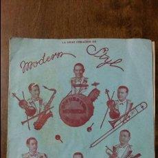 Partituras musicales: NO DUDES TANGO. ORIGINAL DE C GAMERO Y JOB. CREACION DE MODERN STYL. COPYRIGHT 1934. Lote 107735247