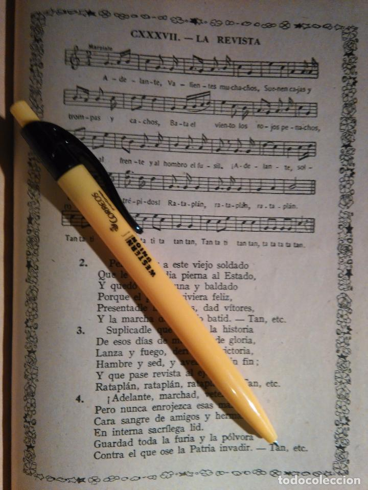 ANTIGUA HOJA PARTITURA Y LETRA - LA REVISTA (Música - Partituras Musicales Antiguas)