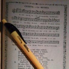Partituras musicales: ANTIGUA HOJA PARTITURA Y LETRA - LA REVISTA. Lote 108109187