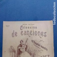 Partituras musicales: LOTE DE PARTITURAS DE COLECCION DE CANCIONES. Lote 108981195
