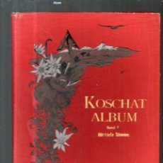 Partituras musicales: KOSCHAT ÁLBUM PARA VOZ PROFUNDA PARTITURA. Lote 109175943