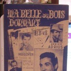 Partituras musicales: MA BELLE AU BOIS DORMART - PORTAL DEL COL·LECCIONISTA *****. Lote 110531923