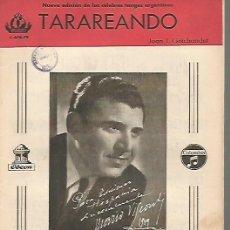 Partituras musicales: MARIO VISCONTI PARTITURA PARA ORQUESTA DE LAS CANCIONES TARAREANDO Y UNA LAGRIMA TUYA. Lote 111927707