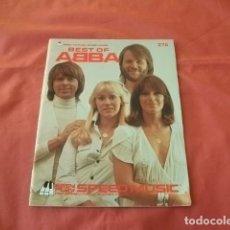 Partituras musicales: PARTITURAS LO MEJOR DEL GRUPO ABBA (AÑO 1979). Lote 112631239
