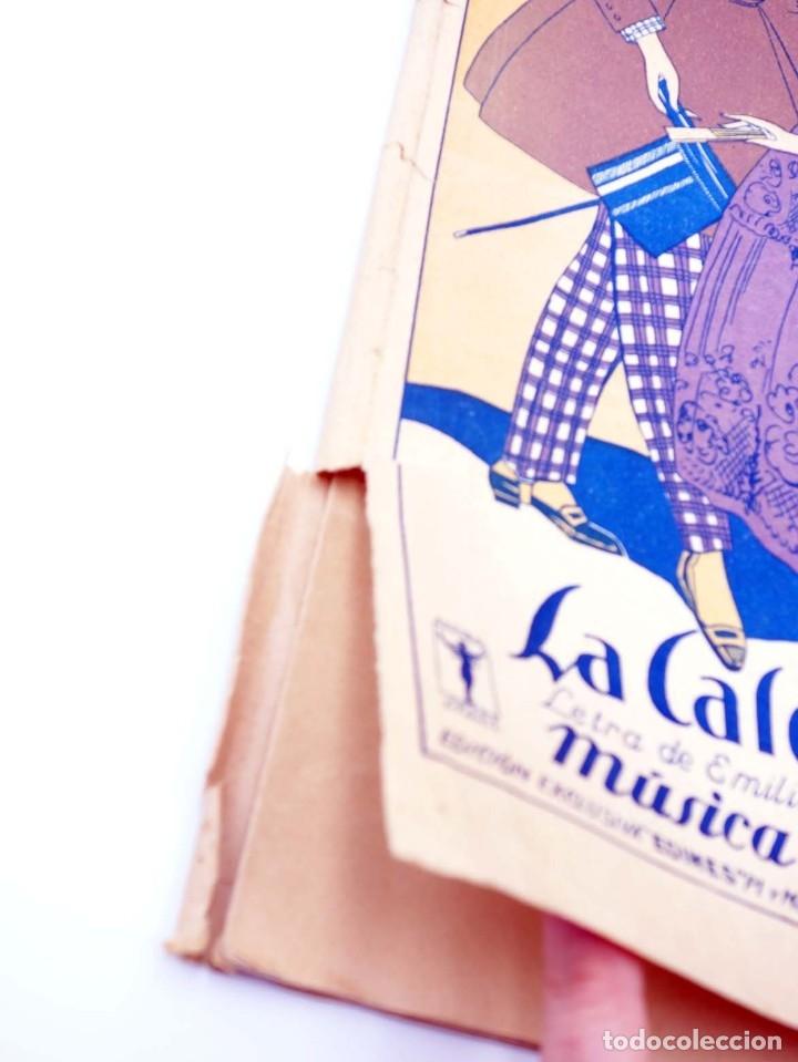 Partituras musicales: PARTITURA LA CALESERA ZARZUELA EN TRES ACTOS (Maestro Alonso) Música española, 1925 - Foto 3 - 113594574