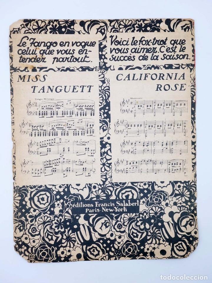 Partituras musicales: PARTITURA VALENCIA MOULIN ROUGE (Mistinguett / José Padilla) Francis Salabert, 1925 - Foto 2 - 113594590
