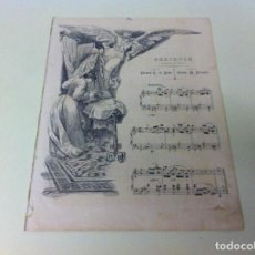 Partituras musicales: PARTITURA MÚSICA (BERCEUSE) CANCIÓN INFANTIL. . Lote 115105431
