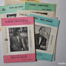 Partituras musicales: PARTITURAS ANTIGUAS. Lote 115125735
