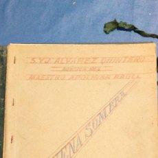 Partituras musicales: GRAN LOTE DE LIBROS DE PARTITURAS DE MUSICA DE COLECCION. Lote 115307519