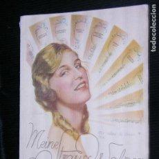 Partituras musicales: F1 PARTITURA MEINE STRAUSS WALSER PARA PIANO JOHAN STRAUSS. Lote 115910147