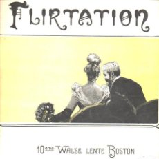 Partituras musicales: WORSLEY : FLIRTATION . Lote 116159779