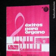 Partituras musicales: F1 PARTITURA EXITOS PARA ORGANOS AÑO 1976 MUSICA DEL SUR. Lote 116194627
