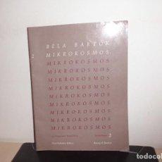 Partituras musicales: BELA BARTOK MIKROKOSMOS -ALBUM 2- 153 POGRESSIVE PIANO-. Lote 116239839