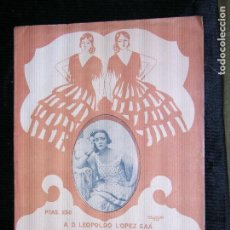 Partituras musicales: F1 PARTITURA A.D. LEOPOLDO LOPEZ SAA ESA ES LA COSA CREACION DE MERCEDES SEROS. Lote 116428899