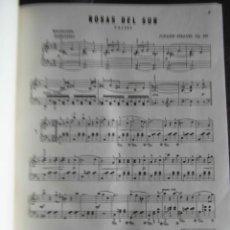 Partituras musicales: COLECCION DE 35 PARTITURAS PARA PIANO. TAPA DURA. STRAUSS, CHOPIN, BRAHMS, ETC. VER DESCRIPCION. Lote 116245427