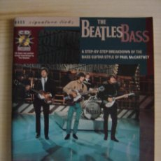 Partituras musicales: THE BEATLES BASS BY WOLF MARSHALL - EDITORIAL HAL LEONARD - PARTITURAS. Lote 118616879