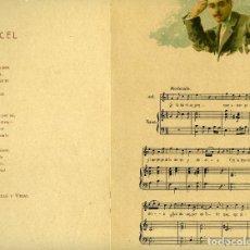 Partituras musicales: JOSEPH FERRER VIDAL-APELES M, CANCONS DE BRESOL -3 PARTITURAS: RECEL, POBRE CEGUET, LA CIGALA, 1907 . Lote 119030731