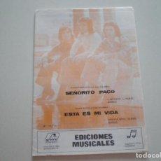 Partituras musicales: RUMBA BRAVA - PARTITURA FARRAN MUSICA NOTAS MAGICAS 1975 // L. GRAVES RUMBAS PARTITURA. Lote 120709763