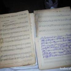 Partituras musicales: LOTE DE 140 PARTITURAS PARA TROMPETA DE LAS CUALES 16 SON MANUSCRITAS . Lote 121287243
