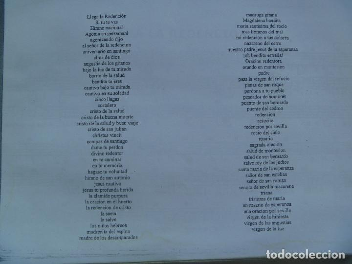 Partituras musicales: SEMANA SANTA DE SEVILLA : CUADERNILLO CON PARTITURAS DE MARCHAS. DE UN MUSICO DE BANDA, LEER - Foto 2 - 121412051