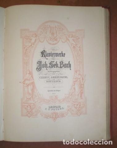 Partituras musicales: ESTUDIOS PARA PIANO. Bertini, Czerny, Dussek, Heller... Partituras (7 obras en 1 vol.). C.1900 - Foto 7 - 122089279