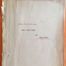 Partituras musicales: PARTITURA- LITRI- PASODOBLE TORERO- PABLO GUERRA. Lote 122682231