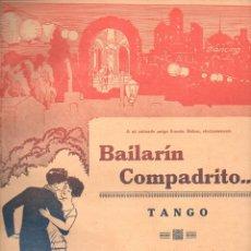 Partituras musicales: BUCINO - CANARO : BAILARÍN COMPADRITO - TANGO . Lote 123021227