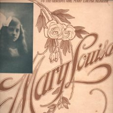 Partituras musicales: LEWIS MARY : MARY LOUISA - ONE STEP FACILE. Lote 123022135