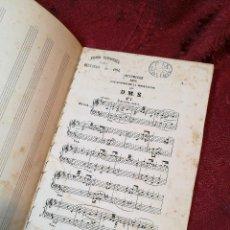 Partituras musicales: PARTITURA 16 PAG...PEDRO CARBONELL 1894 OLOT-GERONA---P.M.VALENTI...SIGLO XIX. Lote 123524395