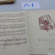 Partituras musicales: PIANO BARCAROLA CUENTOS DE HOFFMANN INTERIOR PINTADO A LÁPIZ. Lote 125822424