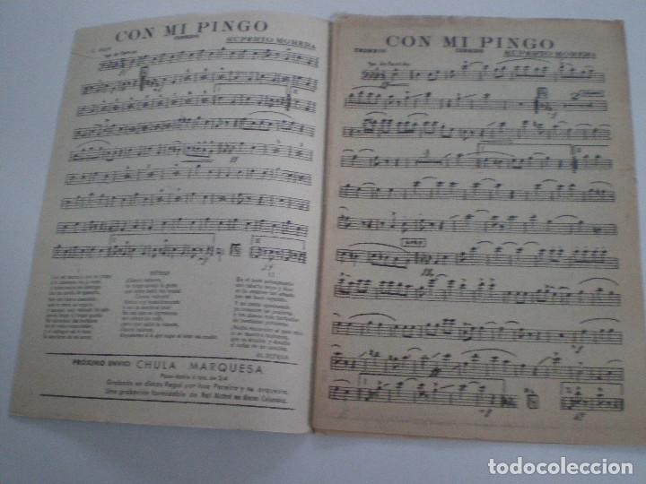 Partituras musicales: JORGE NEGRETE - Guapa Mejicana. Con Mi Pingo - PARTITURAS LITO CODOY 1950s - Foto 2 - 126940415