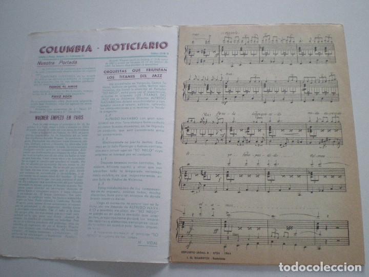 Partituras musicales: ALFREDO / R. ROYO ABRIL / L. PEREZ - Perez Rock - PARTITURA COLUMBIA 1964 - Foto 2 - 126947819
