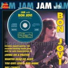 Partituras musicales: BON JOVI RICHIE SAMBORA JAM PARTITURAS LIBRO + CD DESCATALOGADO. Lote 127154987