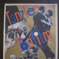 Partituras musicales: TANZTEE UND TONFILM - BAND 4 - MUSICA -LIBRO PARTITURAS MUSICALES -VER FOTOS-(V-14.964). Lote 127242971