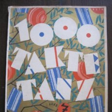 Partituras musicales: 1000 TAKTE TANZ - BAND 7 - MUSICA -LIBRO PARTITURAS MUSICALES -VER FOTOS-(V-14.966). Lote 127243475