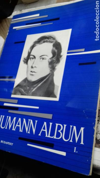 PARTITURA PIANO.SCHUMANN ALBUM (Música - Partituras Musicales Antiguas)