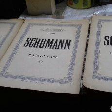 Partituras musicales: PARTITURAS PIANO. SCHUMANN. Lote 131451643