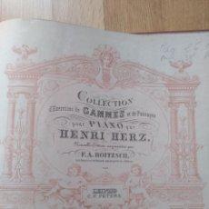 Partituras musicales: ANTIGUA PARTITURA DE MUSICA. LIBRERIA Y TIPOGRAFIA VICENSE. RAMBLA DEL CARMEN, NUMERO 7 VICH.. Lote 131723474